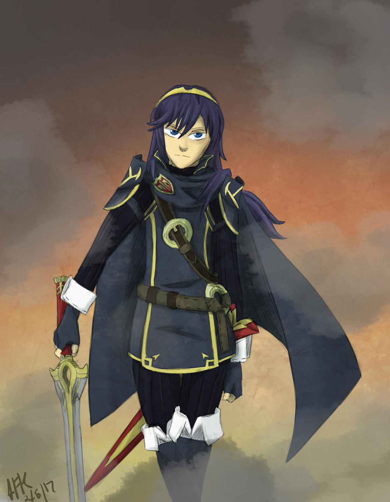 F:art - Lucina by A-Fistful-Of-Kittens