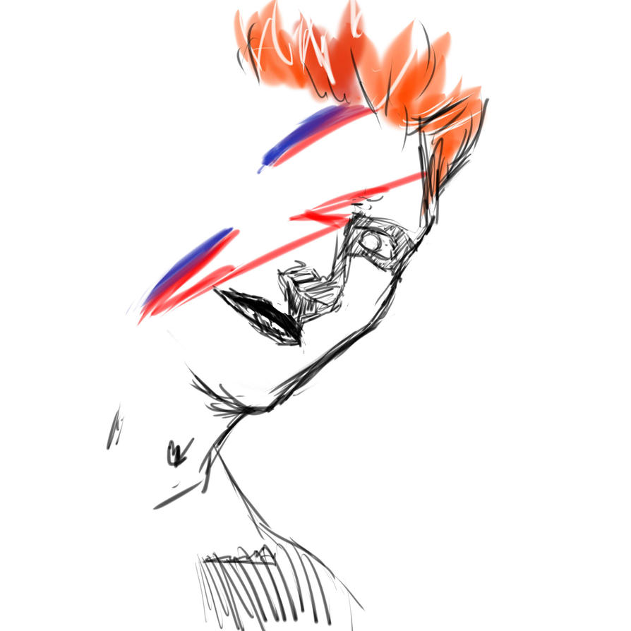 Bowie by A-Fistful-Of-Kittens