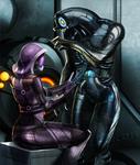 Tali'Zorah, Legion. Mass Effect