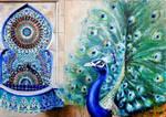 Rivalry -peacock-