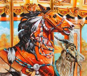 Muller carousel pony by veracauwenberghs