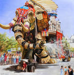 The sultan's elephant (Royal de Luxe)