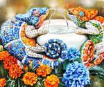 Mosaic chameleons