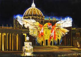 Fiat Lux:projection of endangered species -Vatican