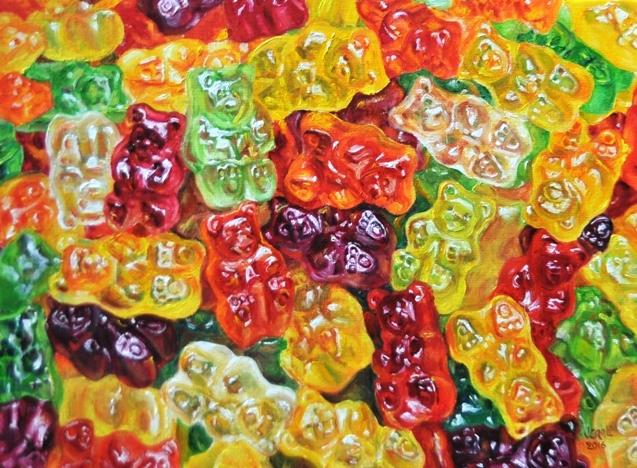 Gummi bears by veracauwenberghs