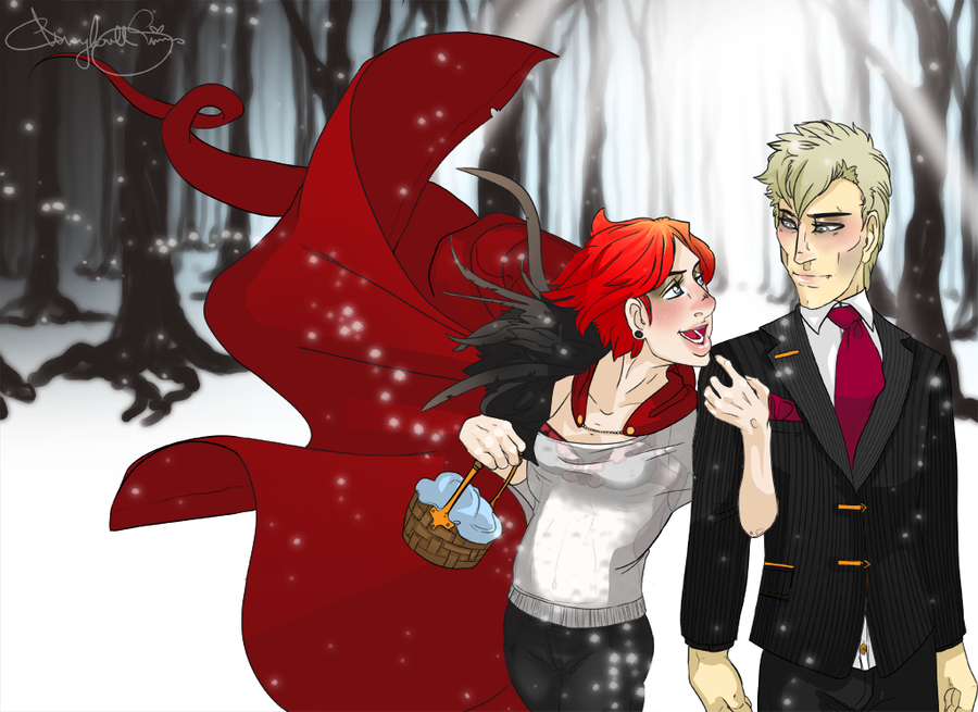 Hey there little Red Riding Hood by Labyrinth-keeper