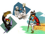 A Game, A Cartoon, An Anime