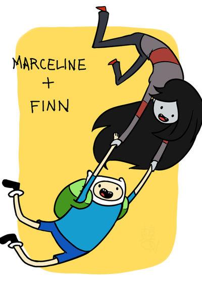 Marceline and Finn