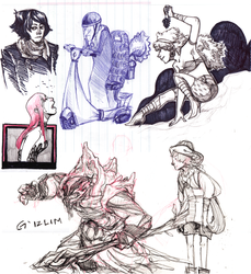 some sketches...