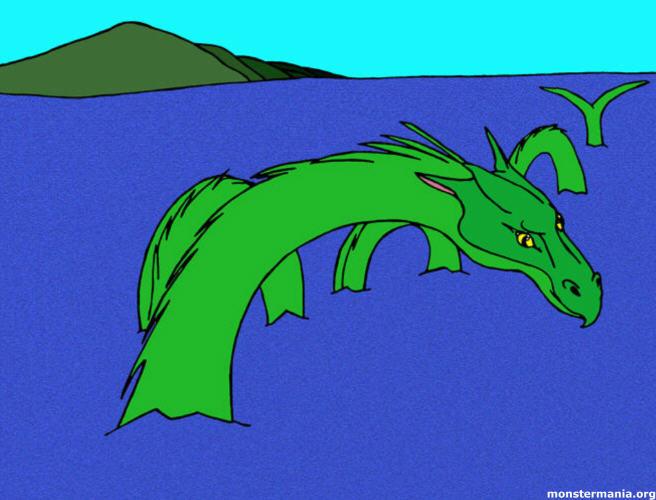Water Monster by jamieh