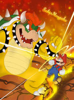 Mario Vs Bowser heavy impact