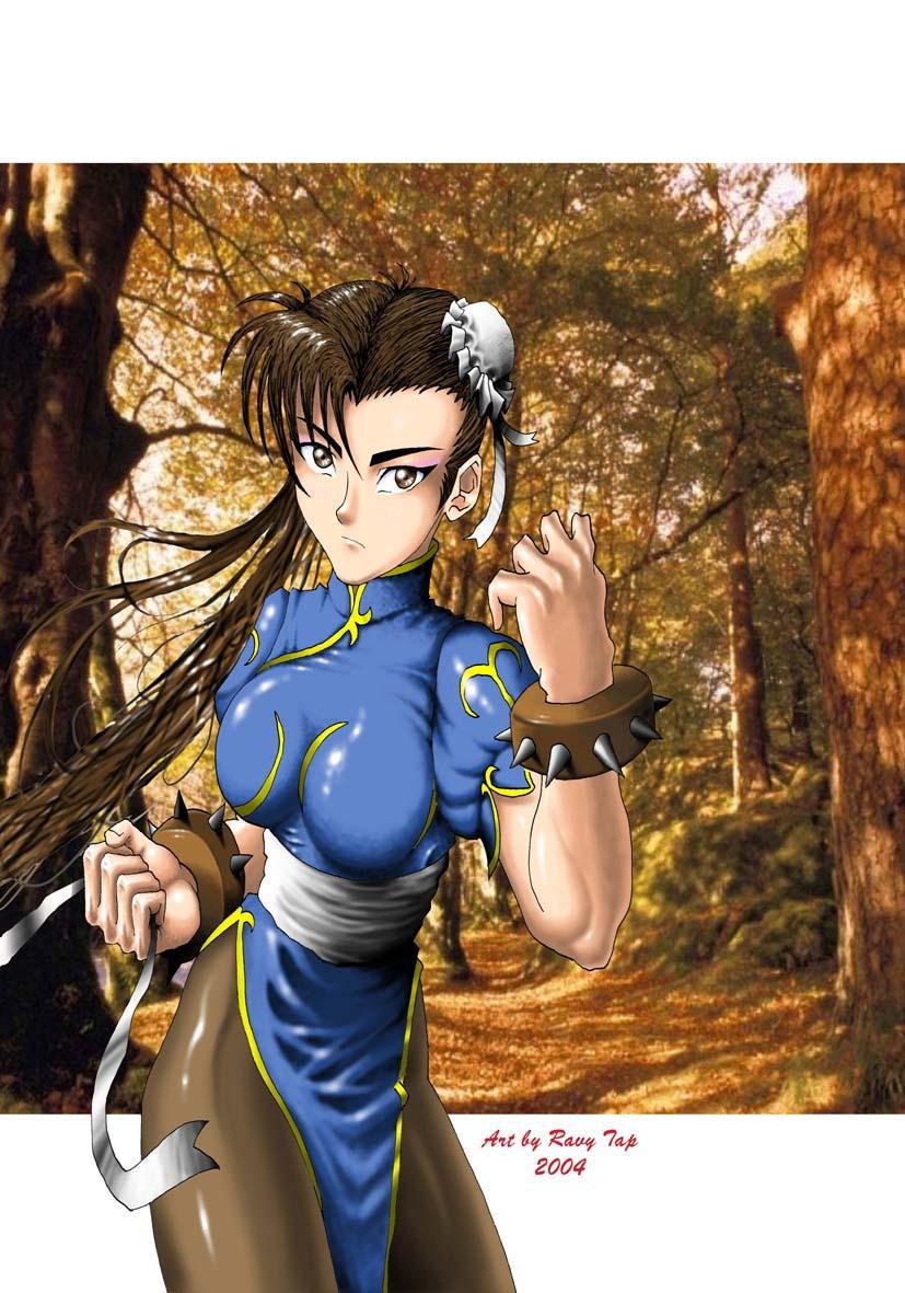 Lost Pic of Chun Li by Anime-Dude