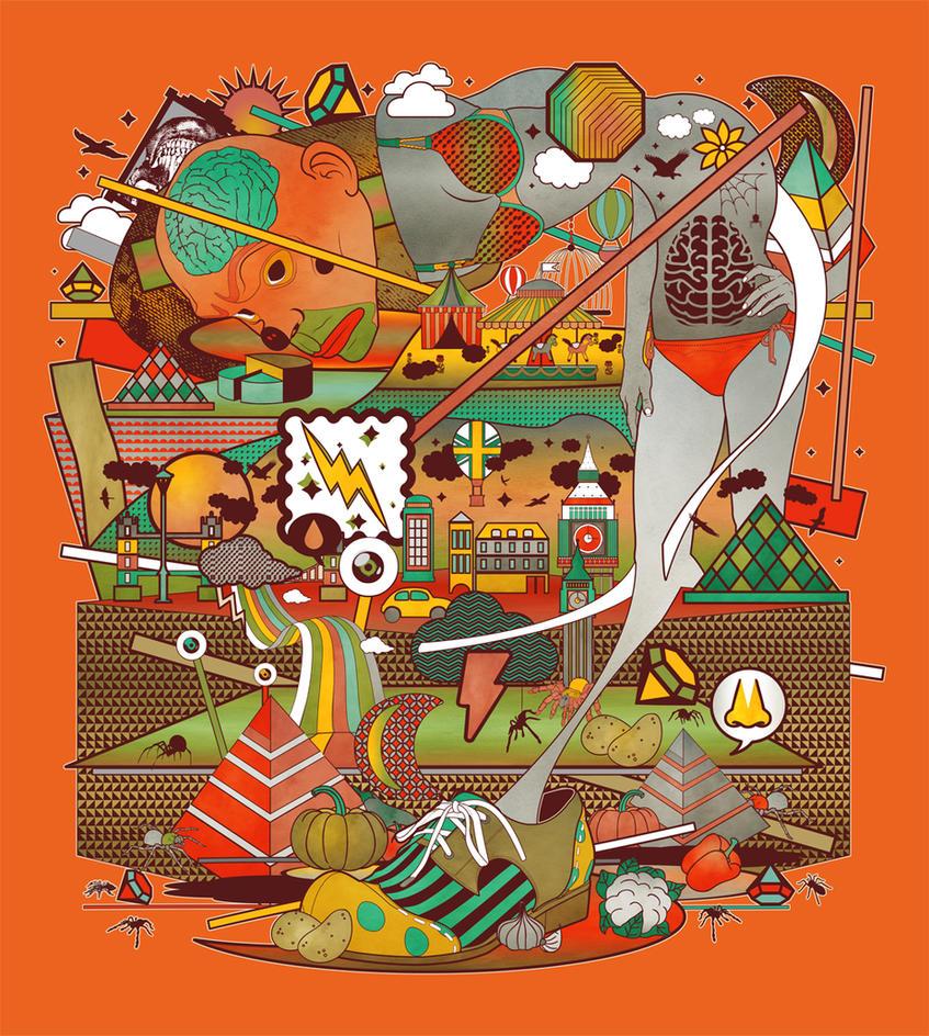 Fruit Circus by Jinberdeem01