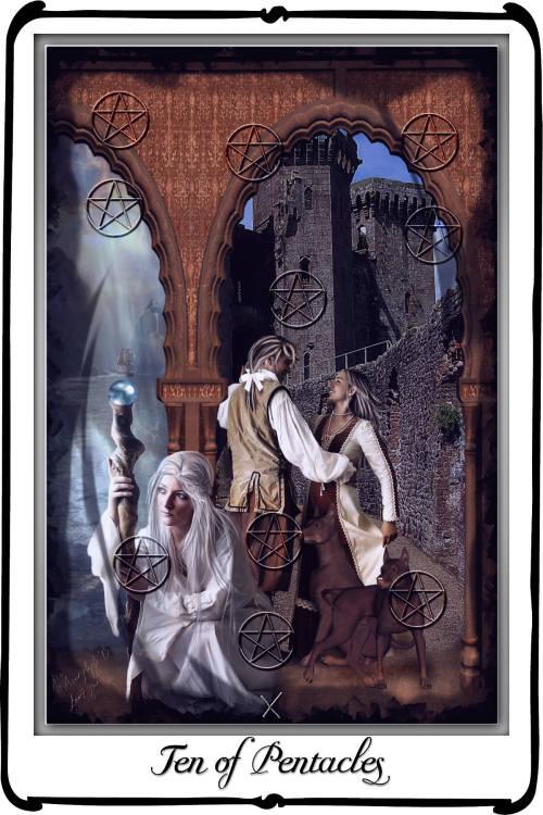 Tarot- Ten Of Pentacles By Azurylipfe On DeviantArt