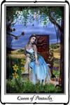 Tarot -Queen of pentacles