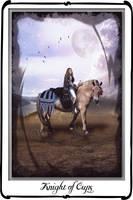 Tarot- knight of cups by azurylipfe
