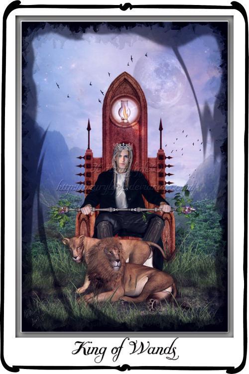 Tarot- King of Wands