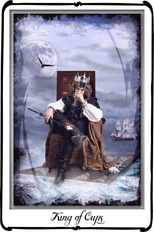 Tarot : King of Cups by azurylipfe on DeviantArt