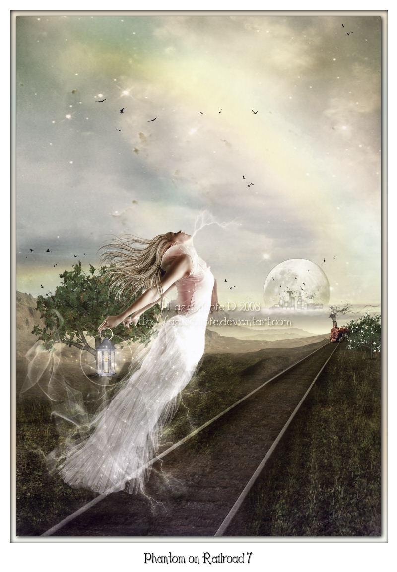The Phantom of Railroad 7 by azurylipfe