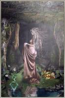 The Goddess Aerecura by azurylipfe