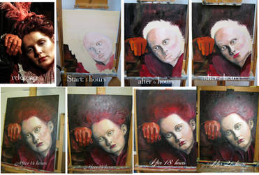 painting in progress III by azurylipfe