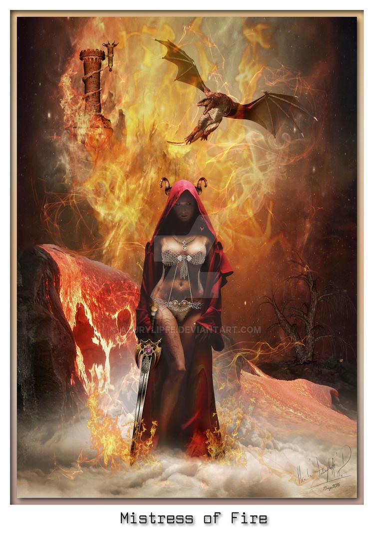 mistress of fire- H-Azurylipfe-D 2016 by azurylipfe