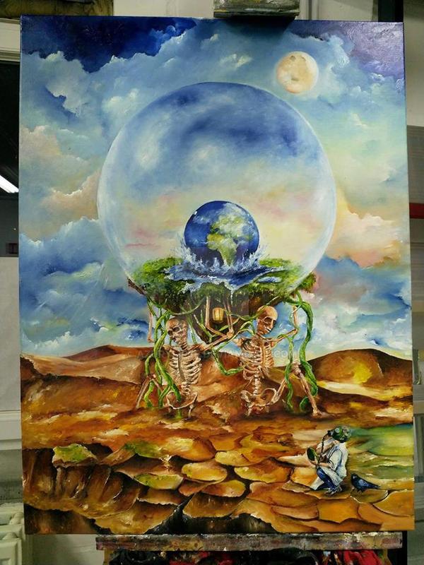Mankinds greed III Sloth by azurylipfe
