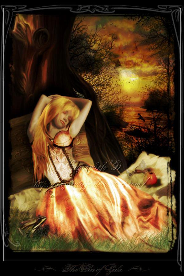 The sin of Gula by azurylipfe