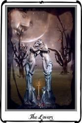 Tarot The Lover by azurylipfe