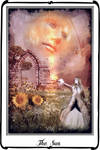 Tarot- the sun by azurylipfe