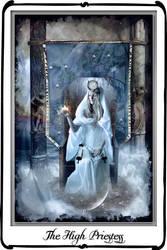 The High priestess by azurylipfe