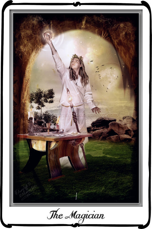 Tarot- The Magician by azurylipfe