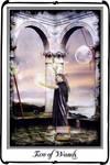 Tarot- Two of Wands by azurylipfe