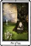 Tarot -Four of Cups by azurylipfe