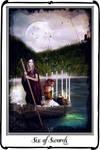 Tarot - Six of Swords
