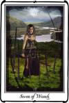 Tarot- Seven of Wands by azurylipfe