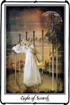 Tarot-Eight of Sword by azurylipfe
