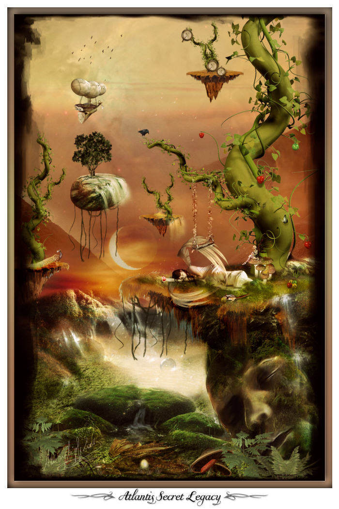Atlantis Secret legacy by azurylipfe