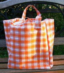 grocery bag - recycle fabric by NotaSouthernGirl