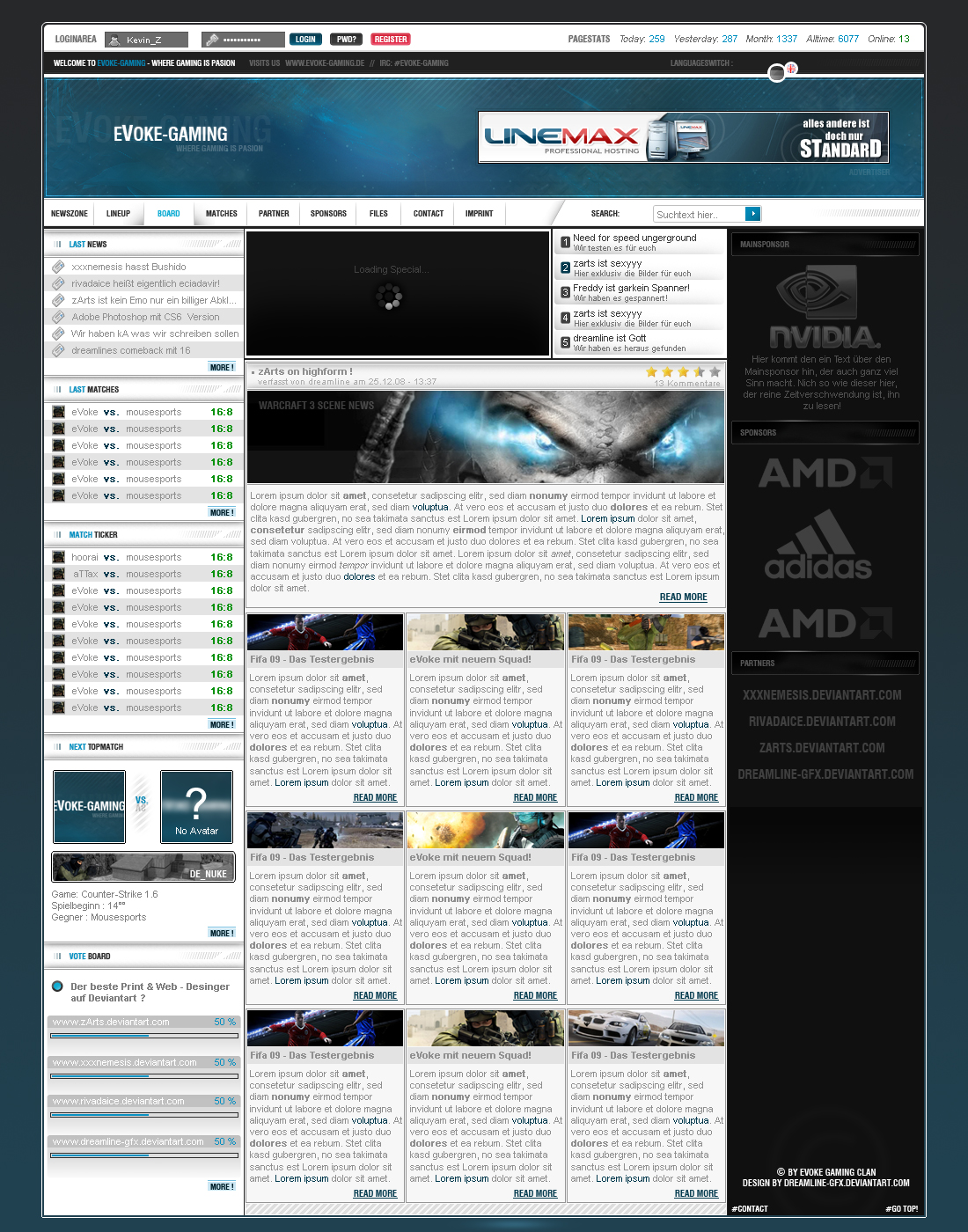 Clandesign III by dreamline-gfx
