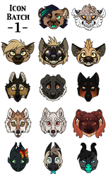 Icon Batch 1 by Chipo-H0P3