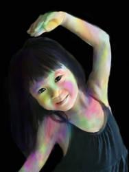 dancing  girl zuqt by donizuqt