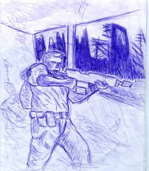 Lone Soldier by xXexedusXx