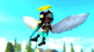 Marina The Angel by ZackSonic123