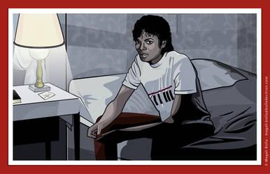 michael jackson beat it by magaliB