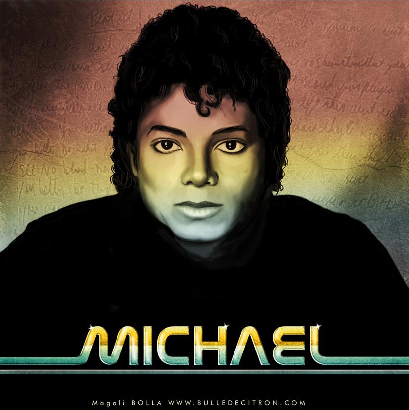 Michael Modo Artistico - Pagina 4 Michael_jackson_portrait_by_magaliB