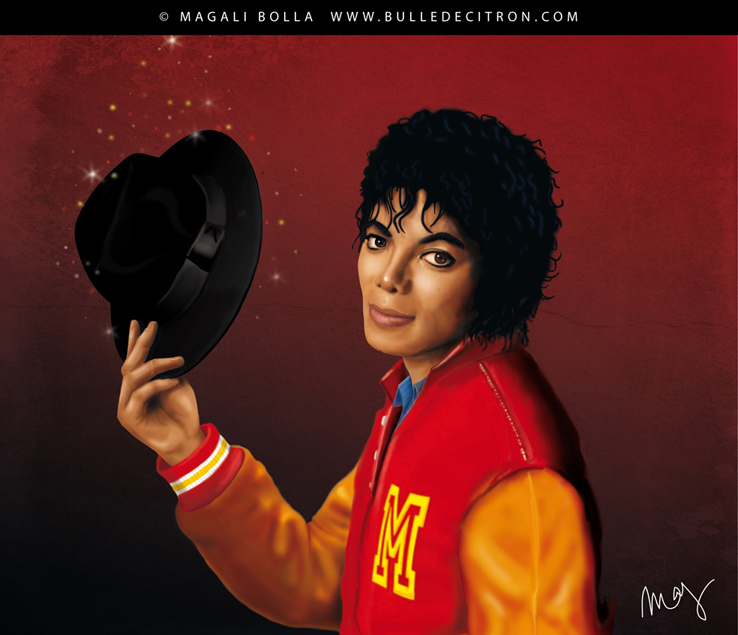 Michael jackson thriller by magaliB