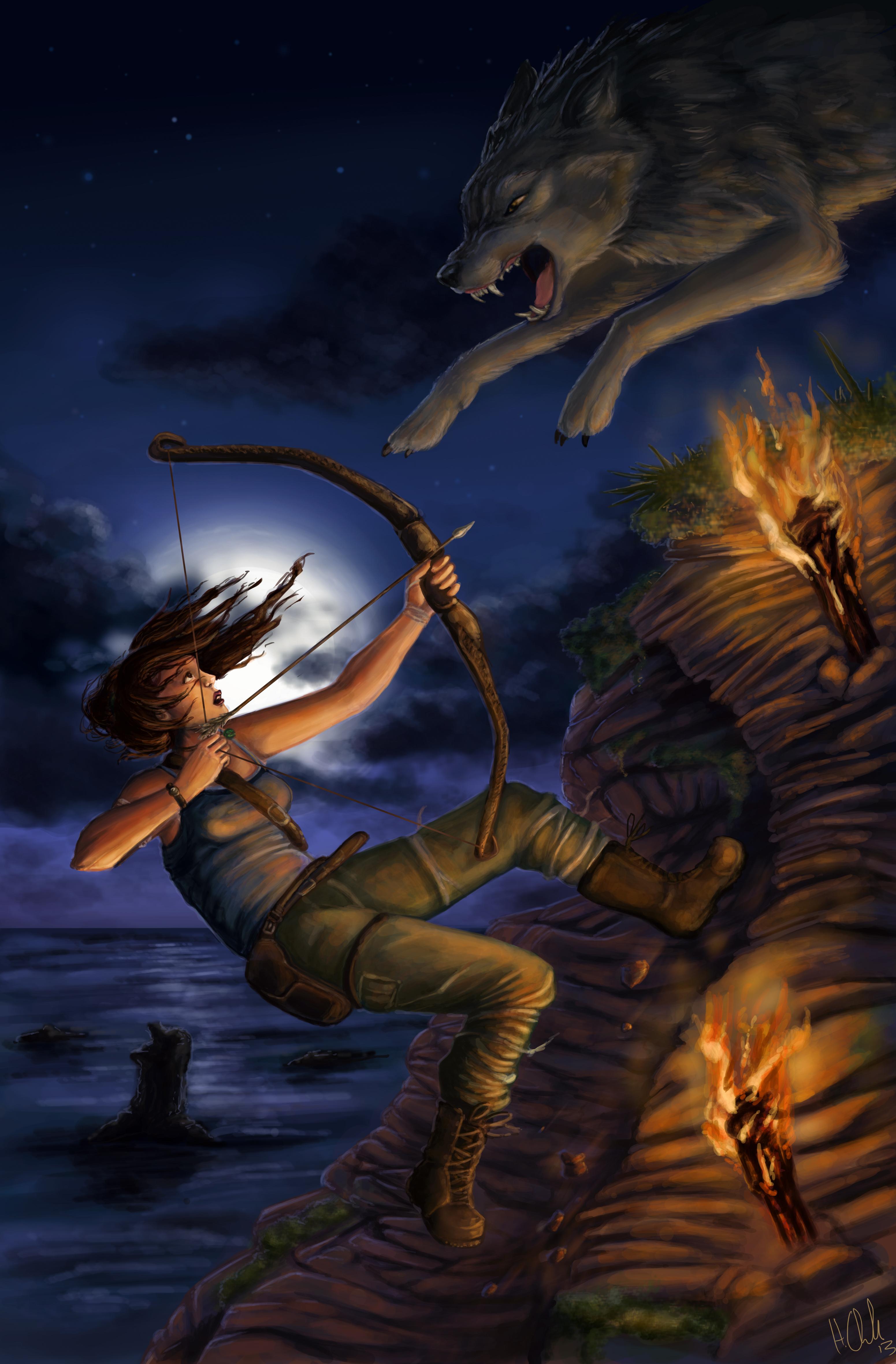 Tomb Raider - Lara Croft by ihazart