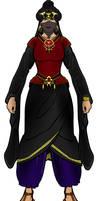 Sinister noblewoman