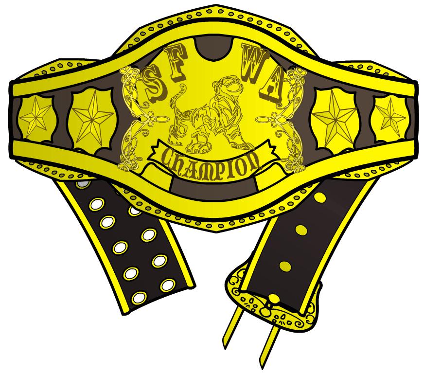 SFWA championship belt by Sulemania